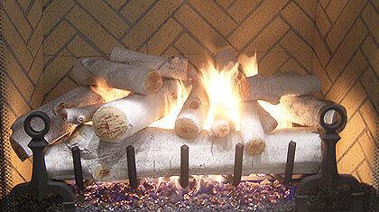 Fireplace Glass, Ceramic Gas Logs & Fire Glass, Orange County ...