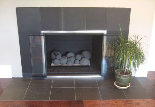 High Quality Glass Fireplace Doors
